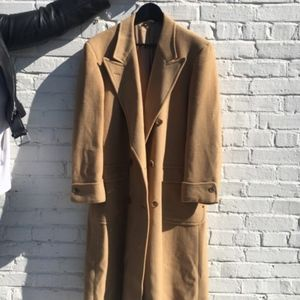 Brooks Brothers Genuine Camel Polo Coat